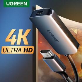 Конвертер HDMI на mini DisplayPort Adapter UGREEN