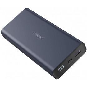 Мобильный аккумулятор Power Bank 20000mAh, QC3.0, 18W, Синий UGREEN