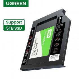 Бокс для установки жесткого диска в отсек DVD ноутбука 9,5мм  UGREEN