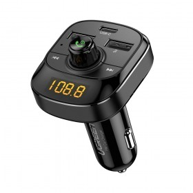 Адаптер автомобильная зарядка QC3.0, 24W (USB-C+USB-A) UGREEN