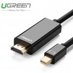 Кабель mini DisplayPort(m) - HDMI(m), 1,5m (UGREEN)