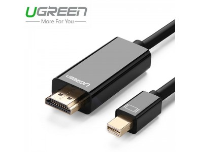 Кабель mini DisplayPort(m) - HDMI(m) UGREEN, 1.5m