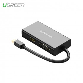 Конвертер Mini DisplayPort  на HDMI+VGA+DVI Adapter (UGREEN)