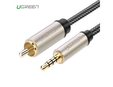 Кабель Audio(m) 3.5mm - Coaxial, 1m UGREEN