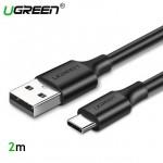 Кабель USB 3.1(m) Type C- USB 2.0(m) Type A, 2m UGREEN