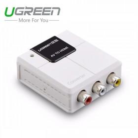 Конвертер с AV на HDMI (UGREEN)