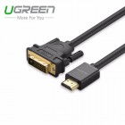 Кабель HDMI(m) - DVI 24+1(m) 1,5м (UGREEN)