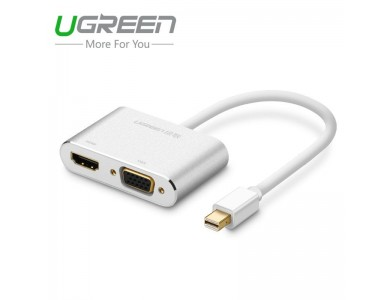 Конвертер Mini DisplayPort (Thunderbolt) на HDMI + VGA в Алматы