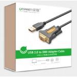 Кабель конвертер с USB(m) на COM(m) RS232 (UGREEN) PL2303