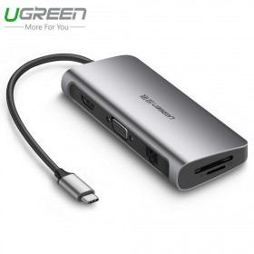 Док-станция USB 3.1 Type C (UGREEN)