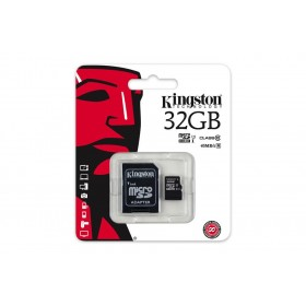 Карта памяти microSDHC Kingston 32GB (UHS-I, class 10)