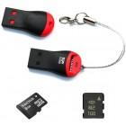 Card Reader USB - MicroSD (переходник с microSD на USB)