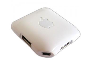 USB хаб, 4 порта в стиле Apple в Алматы