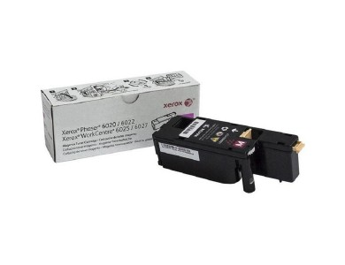 Тонер-картридж Xerox Phaser 6020/6022/ WC 6025/6027 magenta ORIGINAL