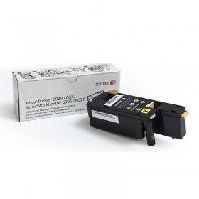 Тонер-картридж Xerox Phaser 6020/6022/ WC 6025/6027 yellow ORIGINAL